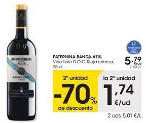 Oferta de Vino tinto Paternina por 5,79€