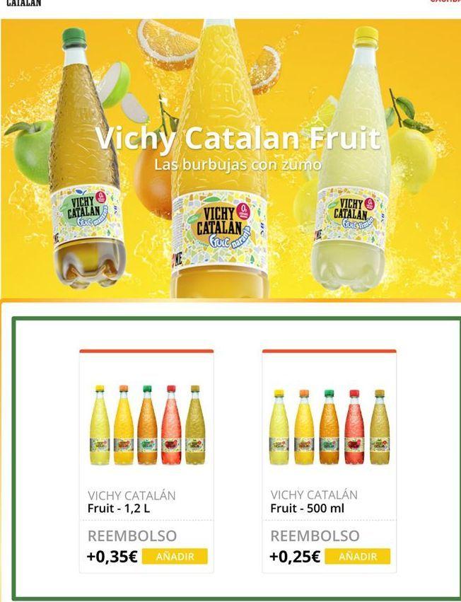 Oferta de Limonada Vichy Catalán por