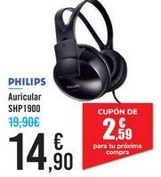 Oferta de Auricular SHP1900 por 14,9€