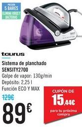 Oferta de Sistema de planchado SENSITY2700 Taurus  por 89€