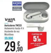 Oferta de Auriculares TW333 VIETA PRO por 29,9€