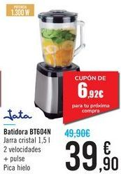 Oferta de Batidora Jata BT604N por 39,9€