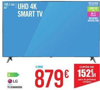 Oferta de TV 65NANO806 LG por 879€