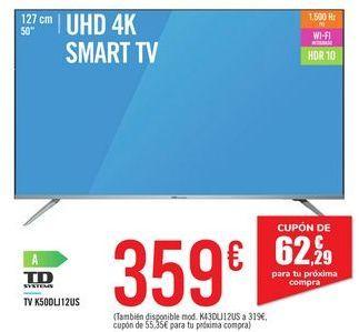 Oferta de TV K50DLJ12US TD SYSTEMS por 359€
