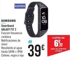 Oferta de Smartband GALAXY FIT 2 SAMSUNG por 39€