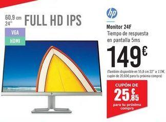 Oferta de Monitor 24F HP por 149€