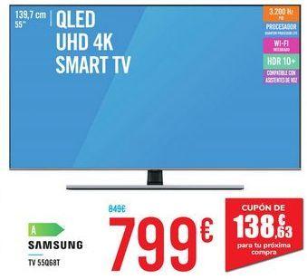 Oferta de TV 55Q68T SAMSUNG por 799€