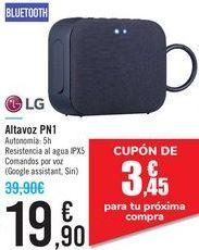 Oferta de Altavoz PN1 LG por 19,9€