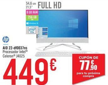 Oferta de AIO 22-df0037ns Hp por 449€