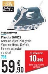 Oferta de Plancha DW8123 Rowenta  por 59,9€