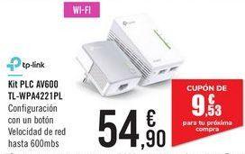 Oferta de Kit PCL AV600 TL-WPA4221PL Tp-Link  por 54,9€