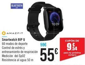 Oferta de Smartwatch BIP U AMAZFIT por 55€