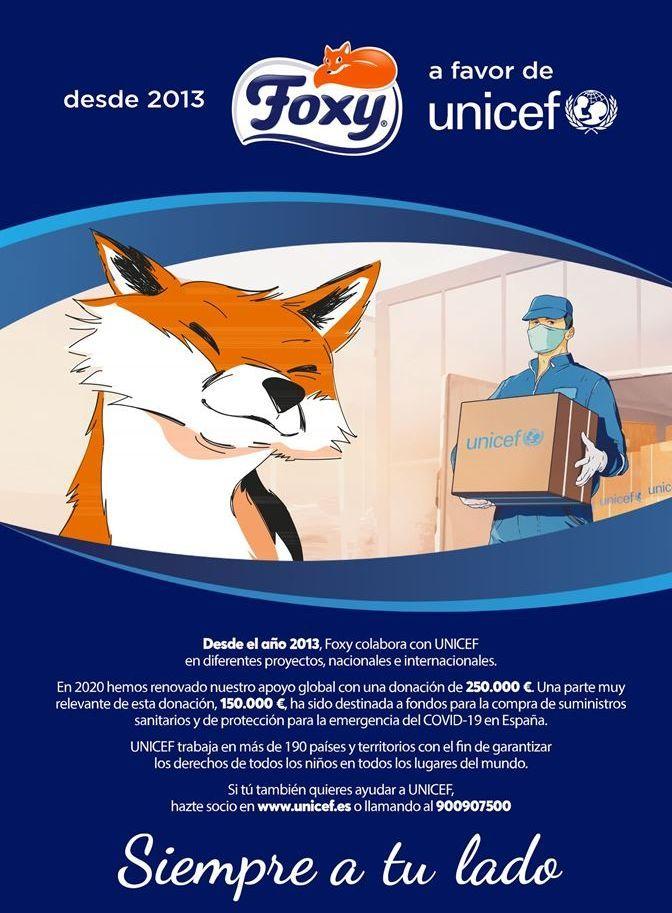 Oferta de Papel higiénico Foxy por
