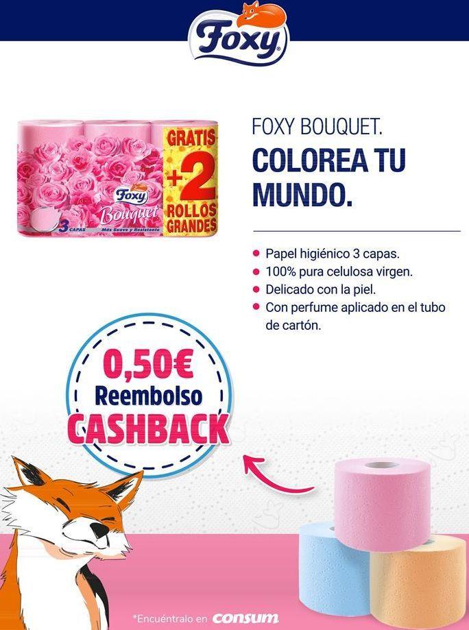 Oferta de Papel higiénico Foxy Bouquet por