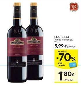 Oferta de Vino tinto Lagunilla por 5,99€