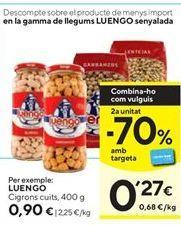 Oferta de Garbanzos Luengo por 0,9€