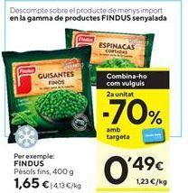 Oferta de Guisantes Findus por 1,65€