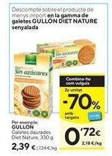 Oferta de Galletas Gullón por 2,39€