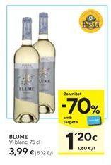Oferta de Vino blanco Blume por 3,99€