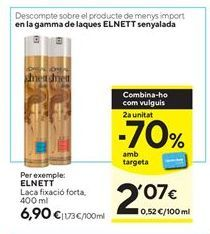 Oferta de Laca Elnett por 6,9€