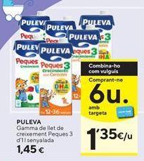 Oferta de Leche de crecimiento Puleva por 1,45€