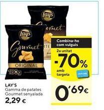 Oferta de Patatas Lay's por 2,29€