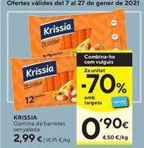 Oferta de Surimi Krissia por 2,99€