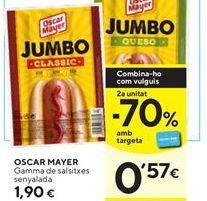 Oferta de Salchichas Oscar Mayer por 1,9€