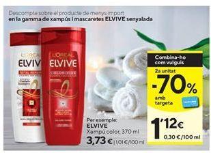Oferta de Champú Elvive por 3,73€