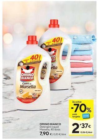 Oferta de Detergente líquido Omino Bianco por 7,9€
