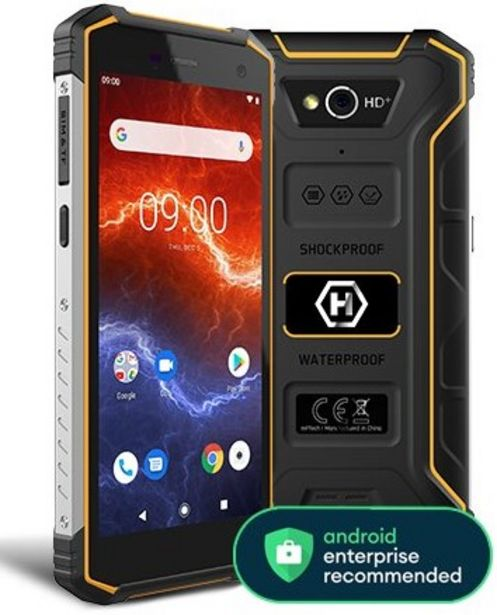 "Oferta de TELEFONO HAMMER ENERGY 2 4GLTE 32/3GB 5.5"" BLACK por 179€"