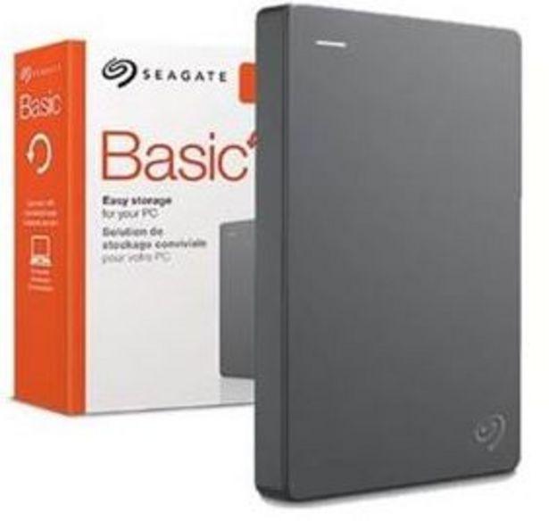 """Oferta de DISCO DURO SEAGATE 2TB 2,5"""" BASIC USB 3.0  por 69,99€"""