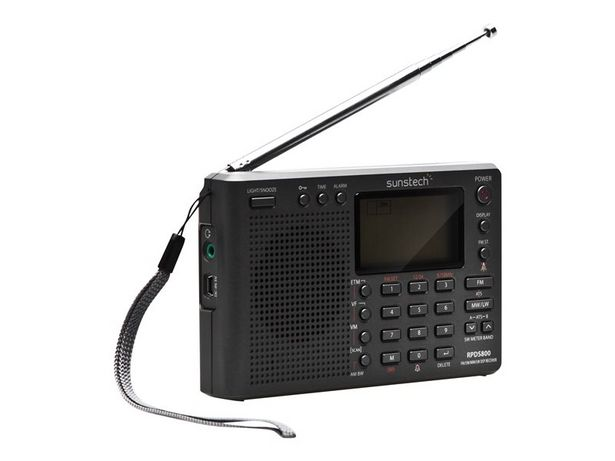 Oferta de RADIO SUNSTECH RPDSS800 TITANIO por 44,95€