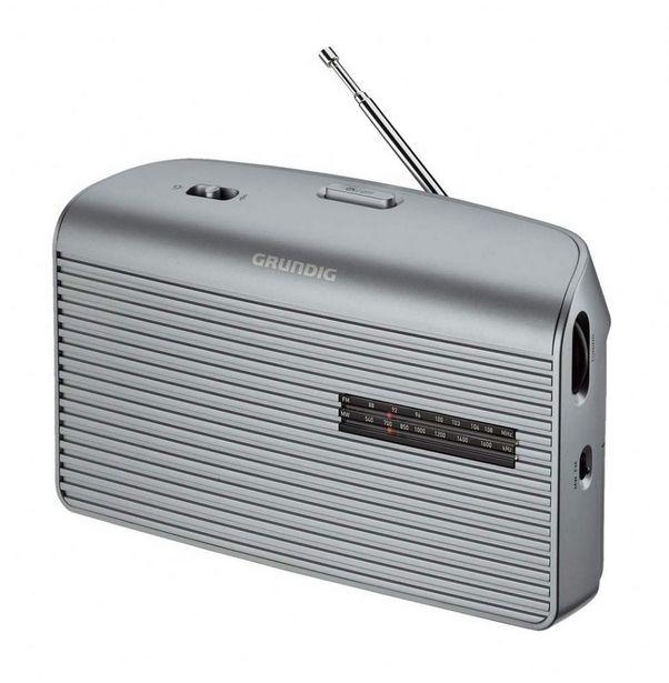 Oferta de RADIO GRUNDIG MUSIC60 SILVER por 27,99€