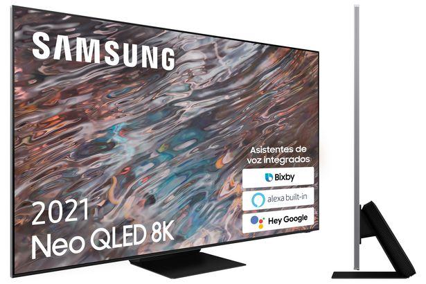 """Oferta de LED SAMSUNG 65"""" QE65QN800ATXXC STV 8K por 3699€"""
