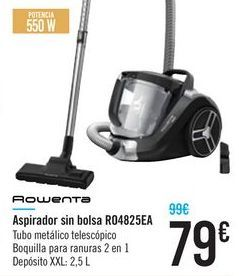 Oferta de Aspirador sin bolsa RO4825EA ROWENTA por 79€