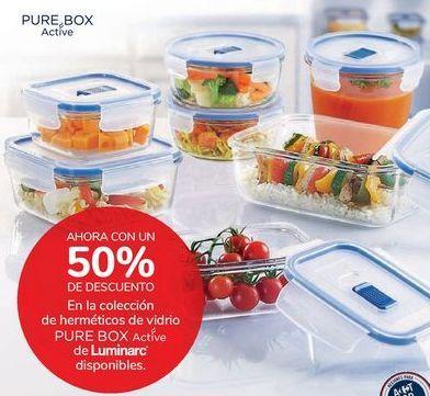 Oferta de En la colección de herméticos de vidrio PURE BOX Active de Luminarc  por