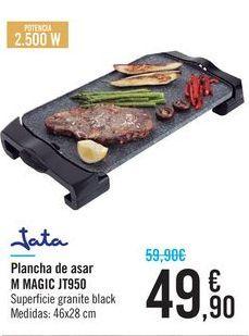 Oferta de Plancha de asar Jata M Magic JT950  por 49,9€