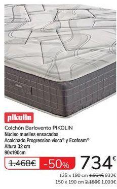 Oferta de Colchón Barlovento PIKOLIN por 734€