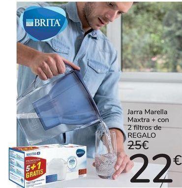 Oferta de Jarra Marella Maxtra + con 2 filtros de REGALO  por 22€