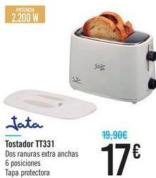 Oferta de Tostadora TT331 Jata  por 17€