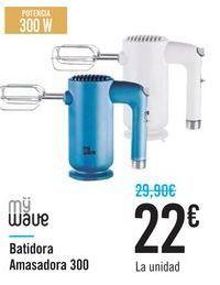 Oferta de Batidora Amasadora 300 MyWave  por 22€