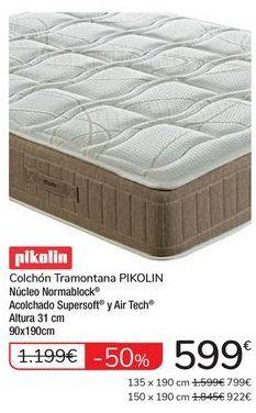 Oferta de Colchón Tramontana PIKOLIN por 599€