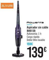 Oferta de Aspirador sin cable RH9159 Rowenta  por 139€