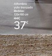 Oferta de Alfombra yute trenzado  por 37€