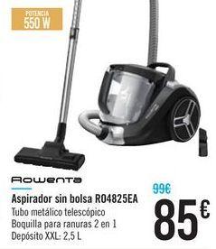 Oferta de Aspirador sin bolsa RO4825EA ROWENTA por 85€