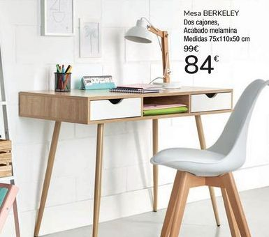 Oferta de Mesa BERKELEY por 84€