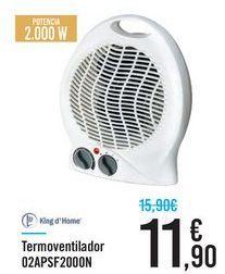 Oferta de Termoventilador 02APSF2000N  por 11,9€