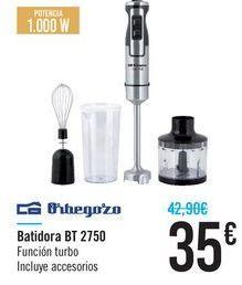 Oferta de Batidora BT 2750 Orbegozo  por 35€