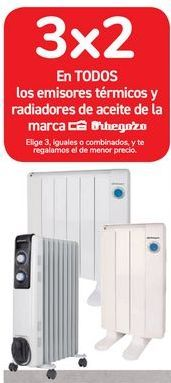 Oferta de En TODOS los emisores térmicos y radiadores de aceite de la marca Orbegozo  por